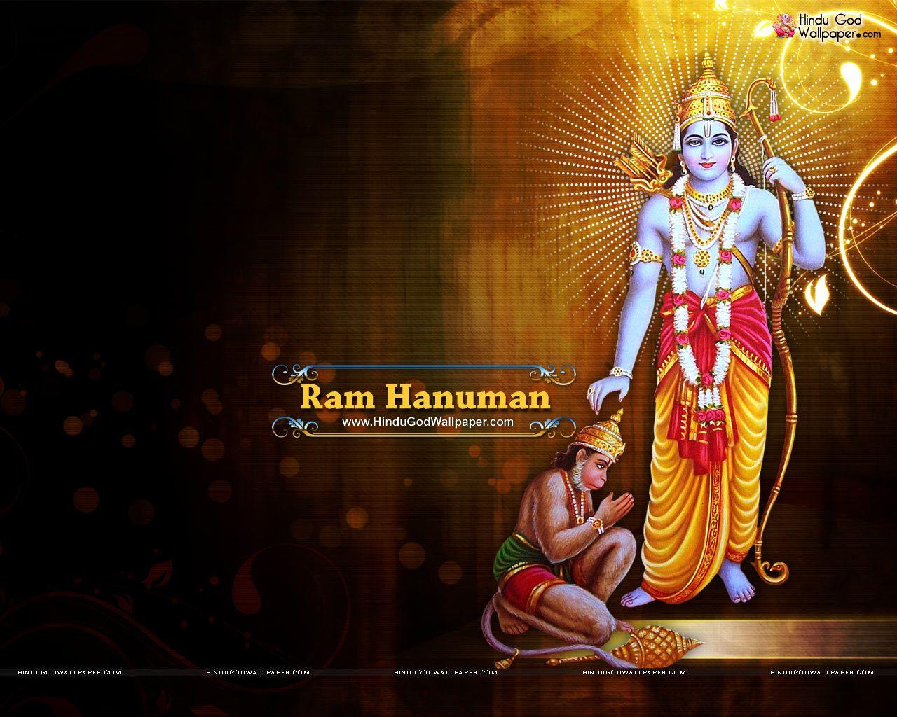 Shri Ram Hanuman Wallpaper Free Download