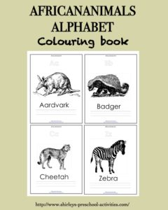 African Animal Alphabet Colouring Book Free Kids Books Alphabet Coloring Pages Free Kids Books Alphabet Coloring