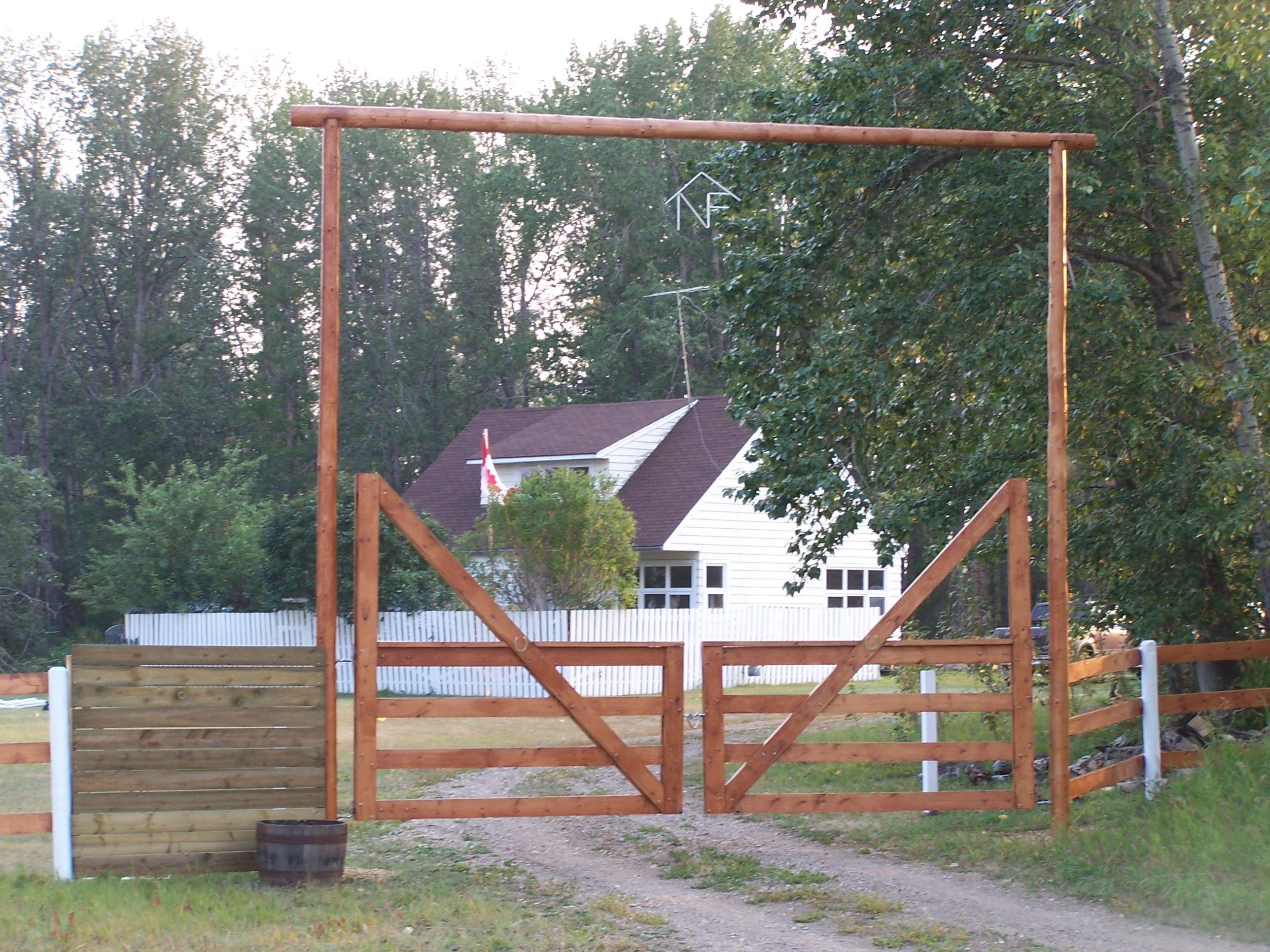 Ranch Gate Ranch Gate Entrances In 2019 Farm Gate
