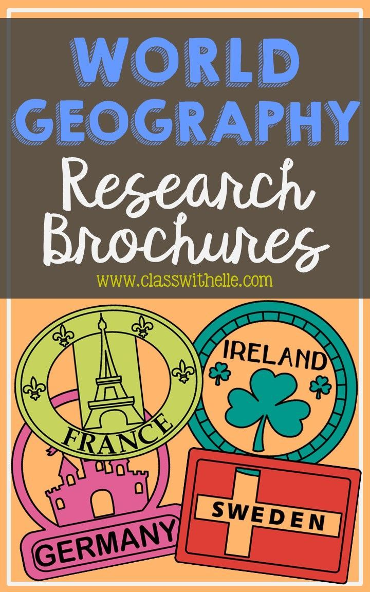 19 country brochure research projects this bundle of two sided tri fold biography brochure templates allows students to dig deeper into facts about
