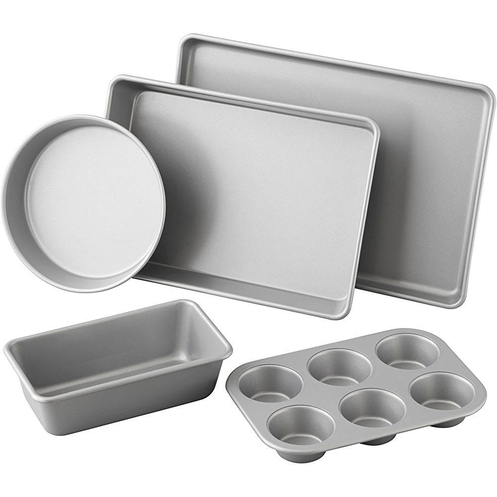 Wilton 5 Piece Best Value Non Stick Bakeware Set 2105 2560