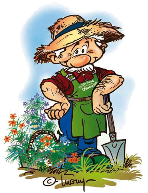 Le Jardin Potager Dessin Jardinier Jardin Potager Potager