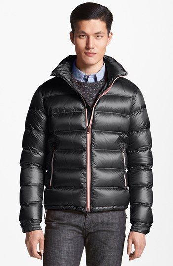Moncler 'Gaston' Matte Down Jacket available at #Nordstrom