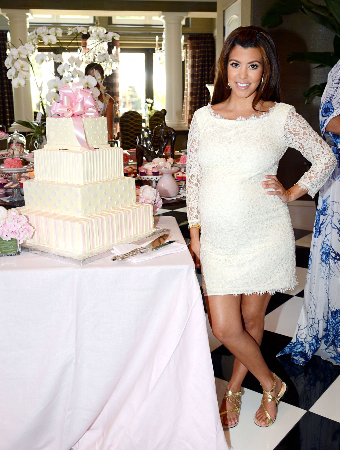 inside kourtney baby shower