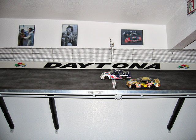 Man Cave Store Belton Mo : A diy man cave using nascar theme featuring legendary driver