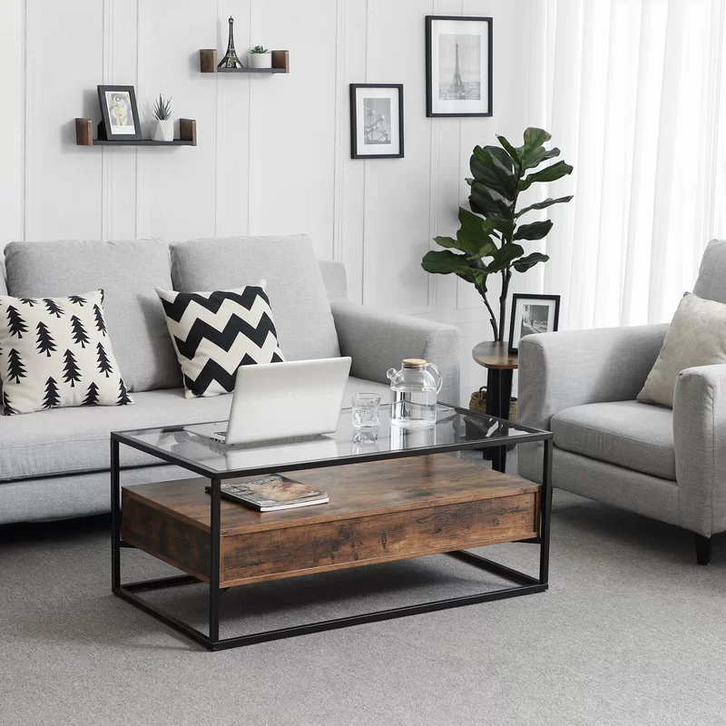 Union Rustic Classen Coffee Table Wayfair In 2020 Coffee Table Living Room Table Living Room Lounge