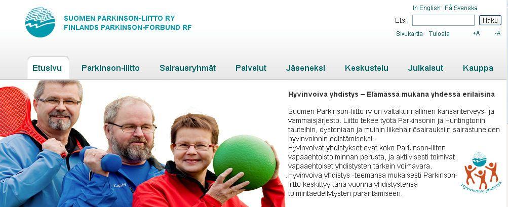 Suomen Parkinson-liitto ry on valtakunnallinen kansanterveys- ja vammaisjärjestö. Liitto tekee työtä Parkinsonin ja Huntingtonin tauteihin, dystoniaan ja muihin liikehäiriösairauksiin sairastuneiden hyvinvoinnin edistämiseksi.
