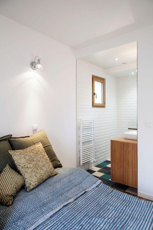 Maison banlieue parisienne  une extension avec jardin Bedrooms - faire sa maison en 3d