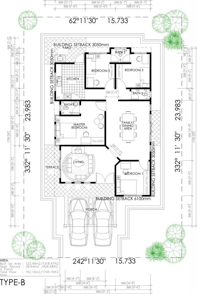 Reka Bentuk Pelan Lantai Rumah Floor