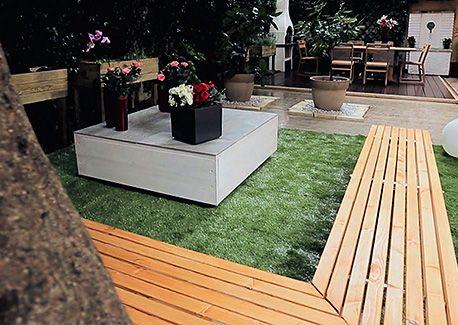 Come costruire una panca da terrazzo da esterno per - Costruire lampade da giardino ...