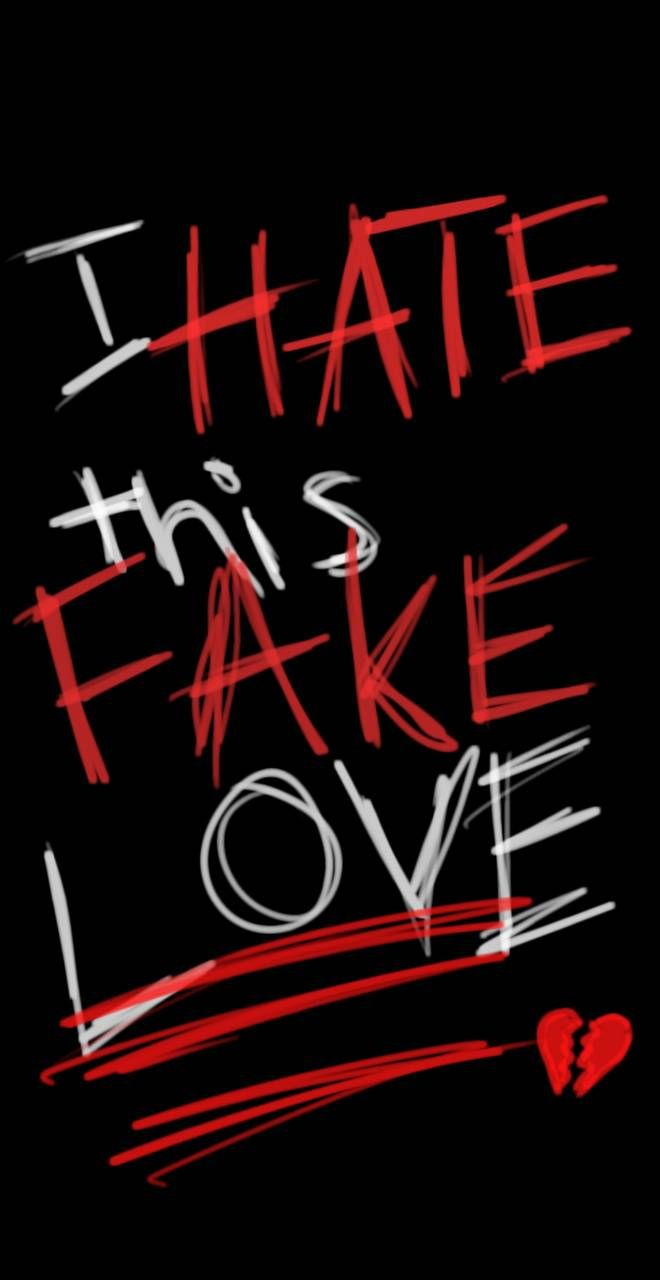 Fake Love wallpaper by KailynnHellitris - cb - Fre
