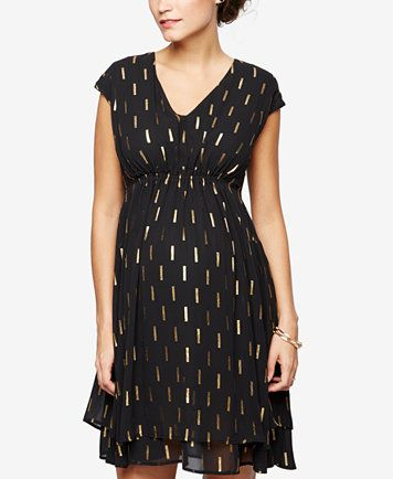 41405457d25fa Collective Concepts Maternity Printed Dress | macys.com | Stitch Fix ...