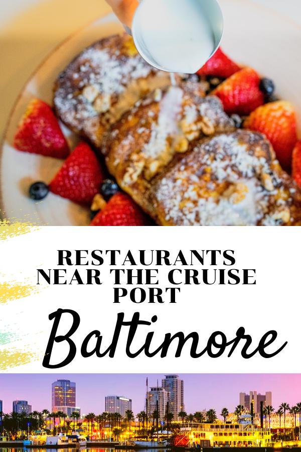 Restaurants Near Port Of Baltimore In 2020 Baltimore Port Restaurant