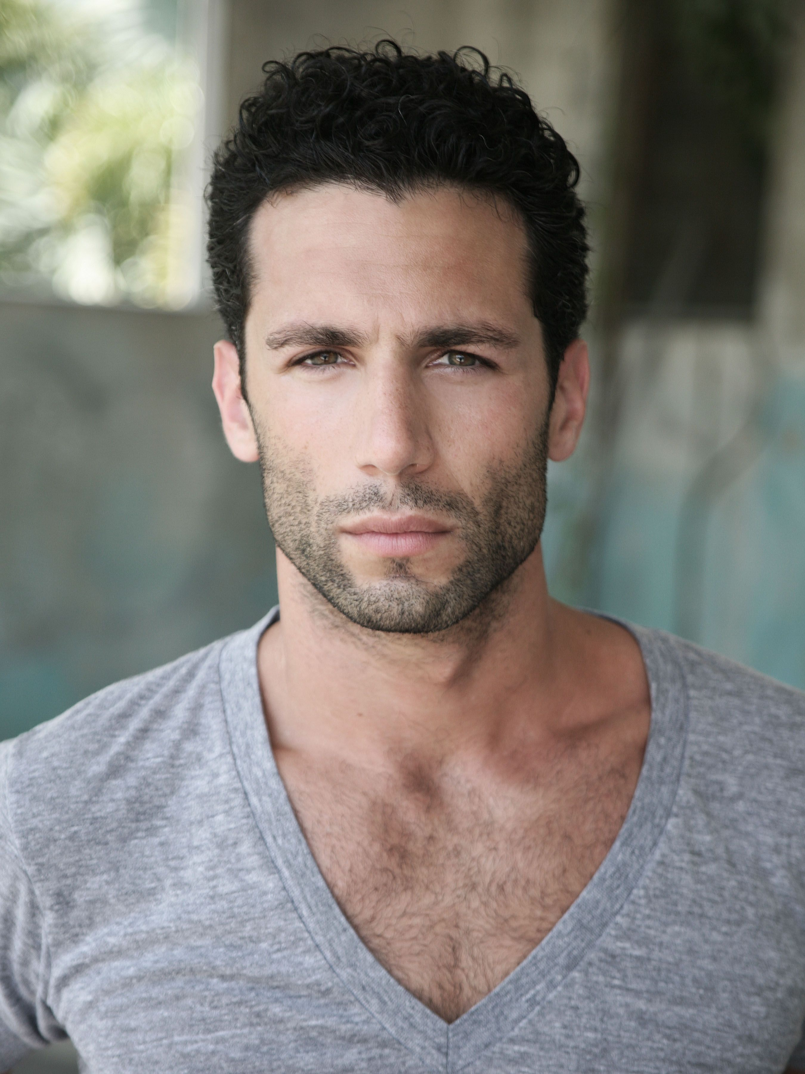 Raphael Hildebrand Face Men Male Models Beautiful Men