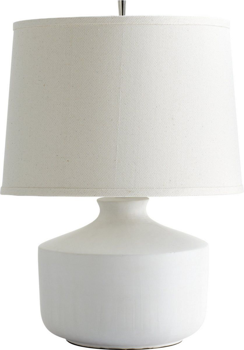 0-023989>Mountain Snow 1-Light Table Lamp White