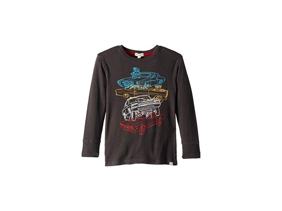 5c06af1e Appaman Kids Soft Multi Car Stacked Graphic Long Sleeve Tee  (Infant/Toddler/Little Kids/Big Kids) (Vintage Black) Boy's Clothing. In  the Appaman Kids Soft ...
