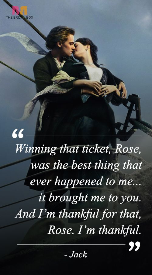 Titanic Quotes Titanic Love Quotes  11 Best Ones From The Classic  Titanic