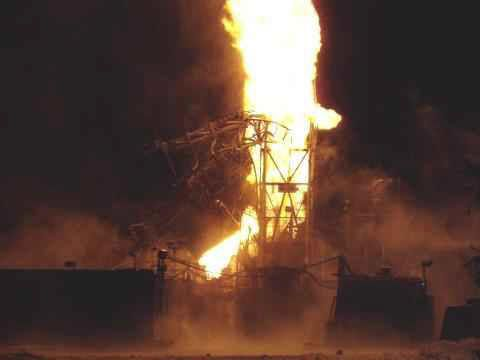 nabors rig blowout fire. oil rig burning. (With images) | Drilling ...