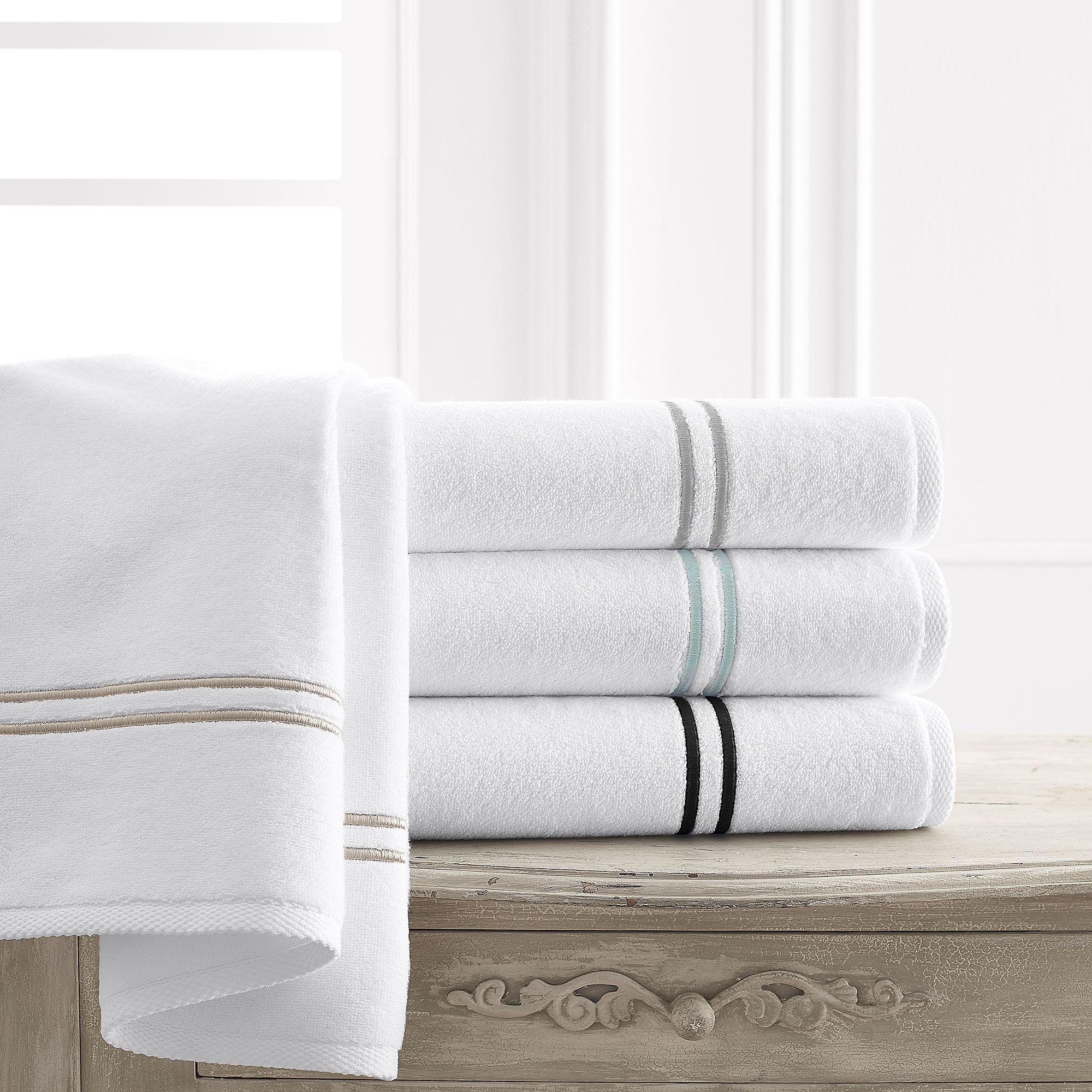 Kassatex Baratta Turkish Cotton Bath Towel Collection in