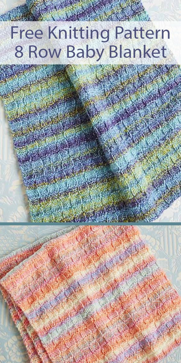 Free Knitting Pattern for Easy Basketweave Baby Blanket in ...