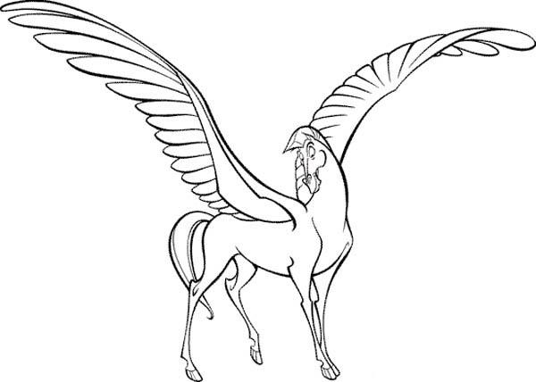 Hercules Bestfriend Pegasus Coloring Pages Bulk Color In 2020 Coloring Pages Coloring Pages For Kids Hercules