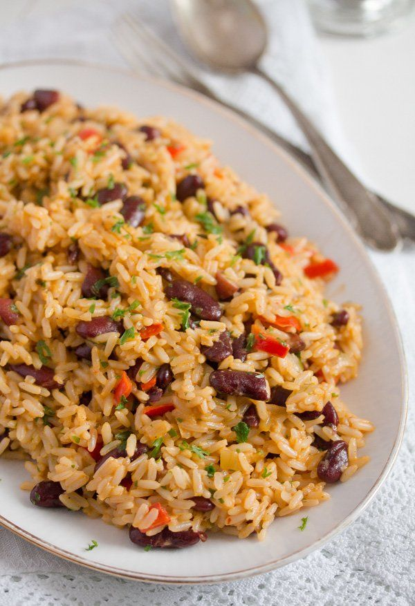 jamaican rice and peas recipe  easy red beans and rice