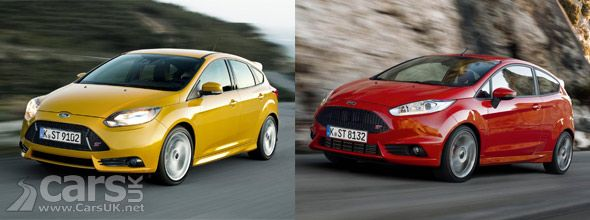 Ford Focus ST & Fiesta ST get official power upgrades. http://www.carsuk.net/ford-focus-st-fiesta-st-get-official-power-upgrades/