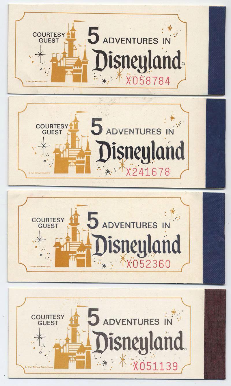 Disneyland 4 Complete Adventures In Disneyland Courtesy