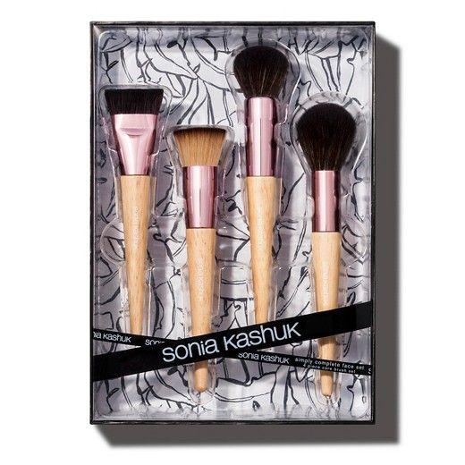 4 Piece Core Makeup Brush Set • Soft, High-quality Brushes