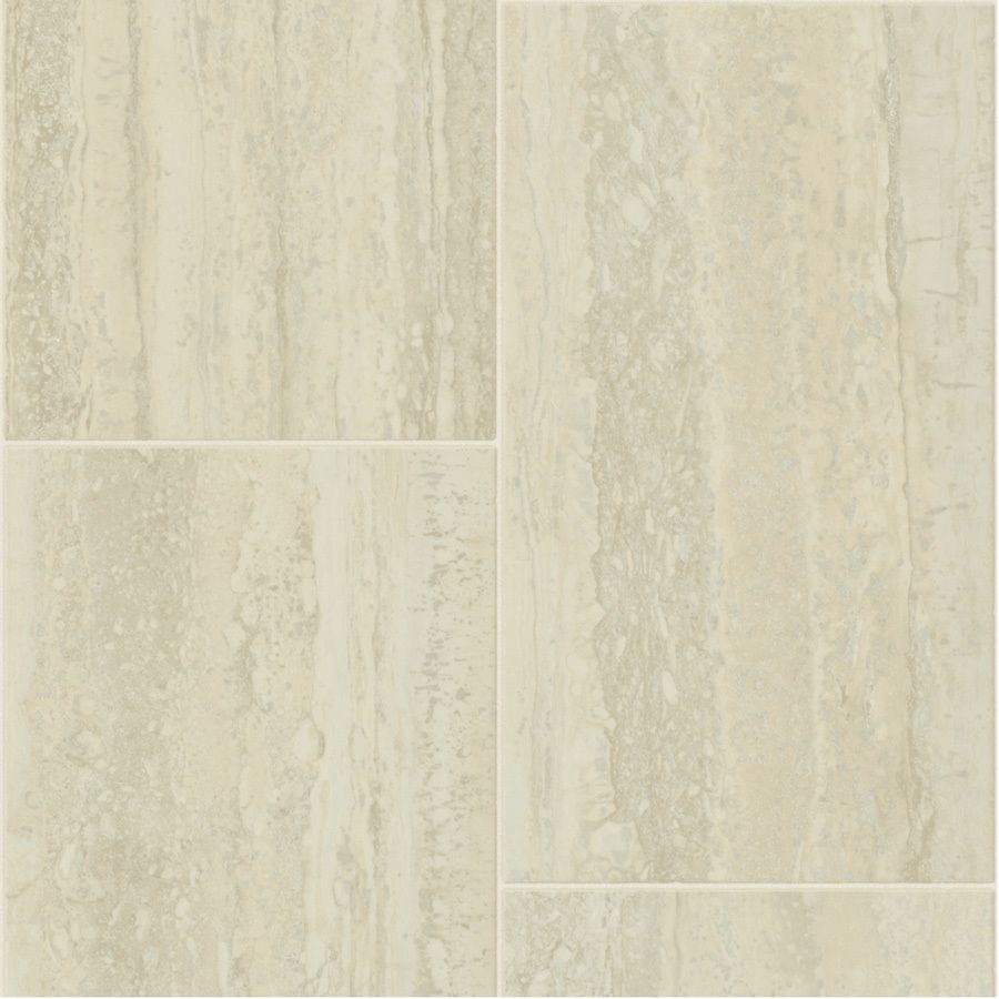 Shop tarkett 12 ft w cremona tile low gloss finish sheet vinyl at tile flooring doublecrazyfo Choice Image
