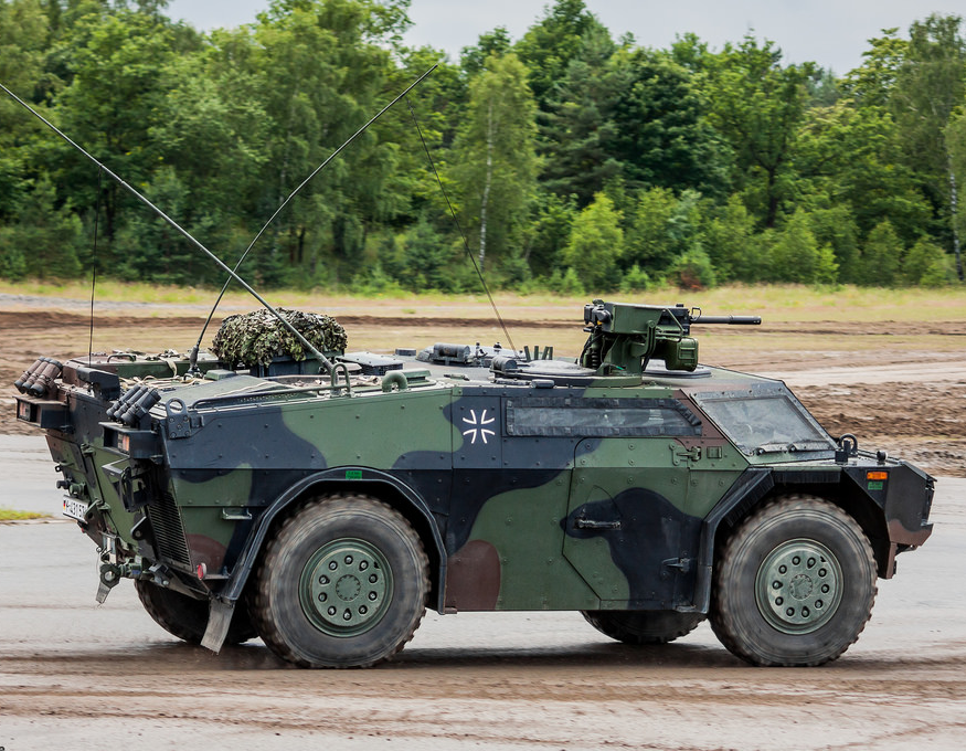 Bundeswehr Jeep