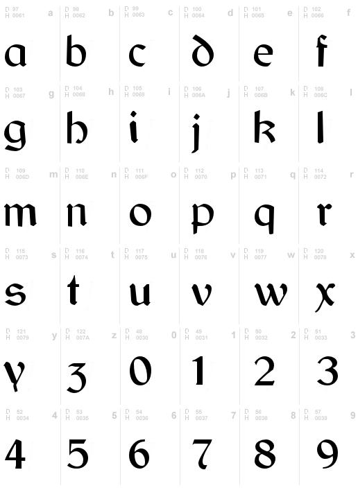 Gaelic Regular | Erin Go Bragh/ Celtic | Irish font, Gaelic