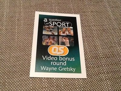 #Wayne #gretsky / ice #hockey / a question of sport game card / 1999,  View more on the LINK: 	http://www.zeppy.io/product/gb/2/162157656328/