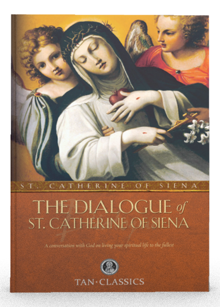 The Dialogue of St. Catherine Of Siena. The Dialogue of St. Catherine of Siena was dictated while she was in ecstasy and speaking with God the Father. Contains page after page of divine wisdom on a host of spiritual subjects. Organized under four main categories: Divine Providence, Discretion, Prayer, Obedience. One of the greatest literary …