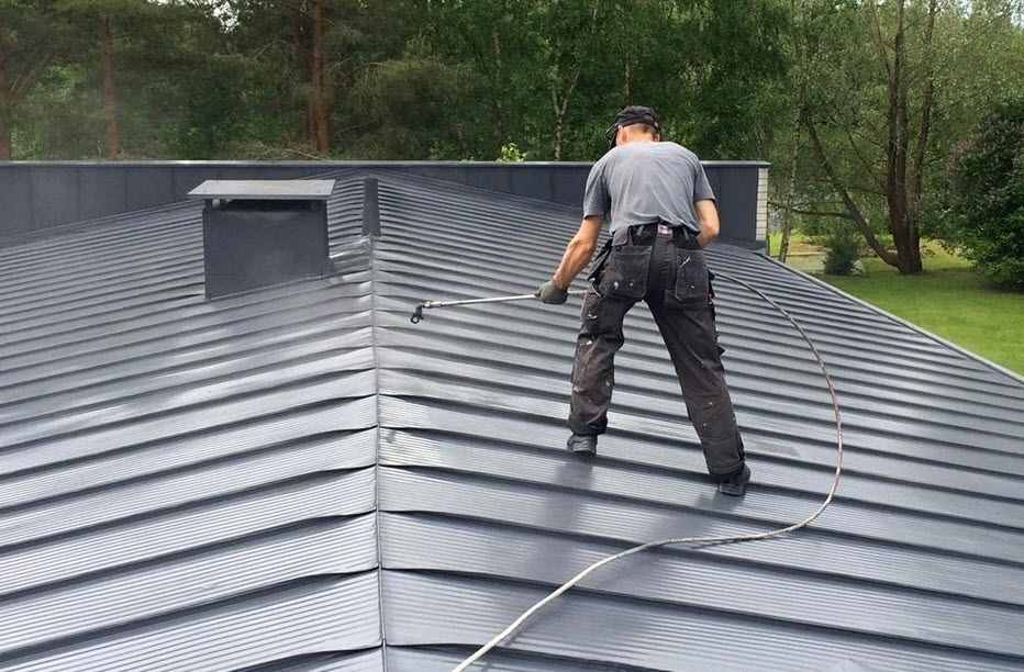 High Class Roofing Have A Team Of Certified Roofpainting Specialists That Cater To Every Type Of Roof Tile Be It Terracotta In 2020 Roof Paint Roof Restoration Roof