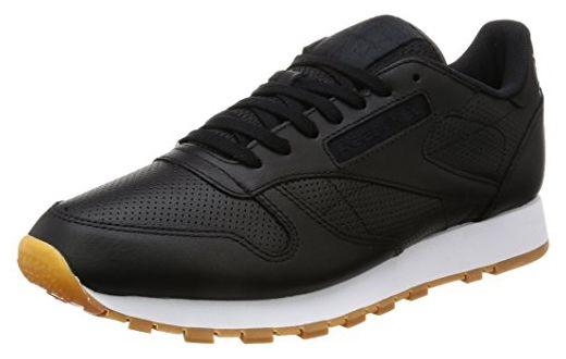 BD1642|Reebok Classic Leather PG Black|40,5 - Sneakers für frauen (*Partner-Link)