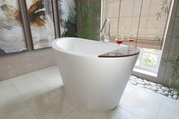 20 Bathrooms With Japanese Soaking Tubs | Freestanding tub, Large ...
