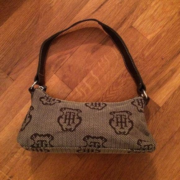 NWOT Tommy Hilfiger Canvas Purse great little purse never used Tommy Hilfiger Bags Mini Bags