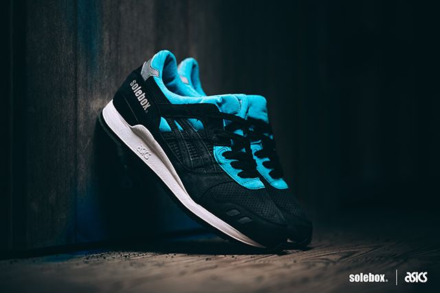 Asics X Solebox Gel Lyte Iii Blue Carpenter Bee Asics Gel Lyte