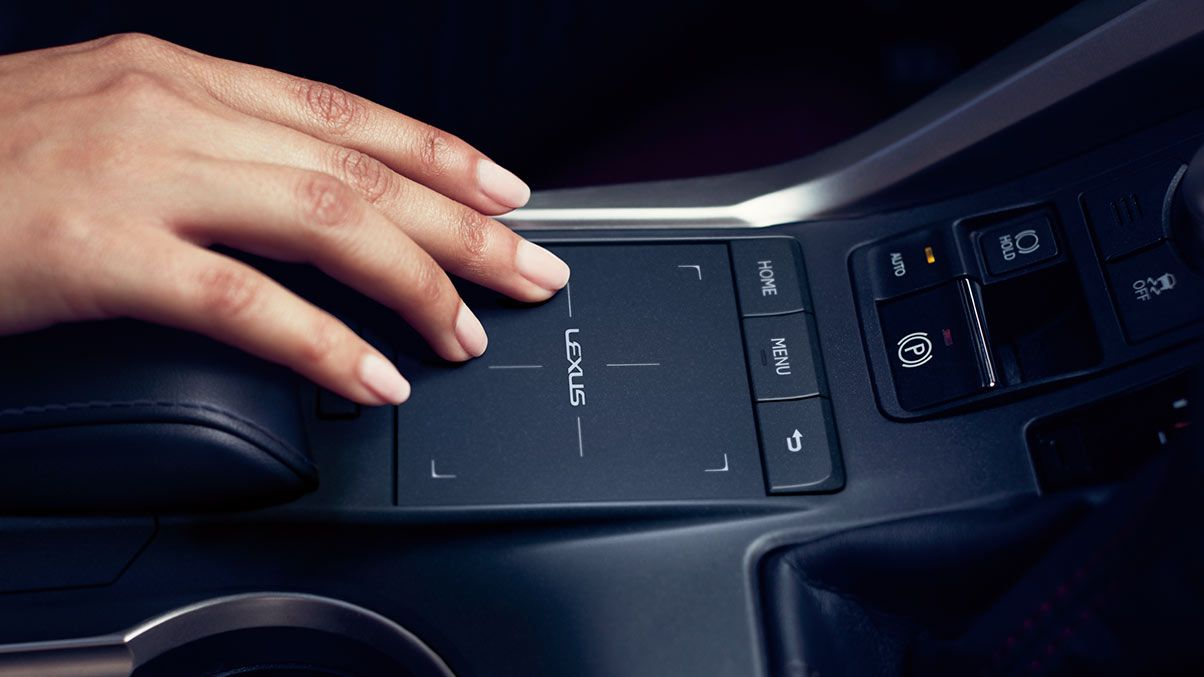 Experience Diffe With The Remote Touch Interface On Lexus Nx