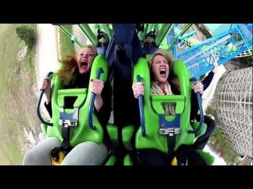 Don T Miss Aftershock S Debut On Travel Channel Theme Park Aftershock Travel Channel
