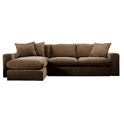 Fawn John Lewis Valencia Chaise End Sofa