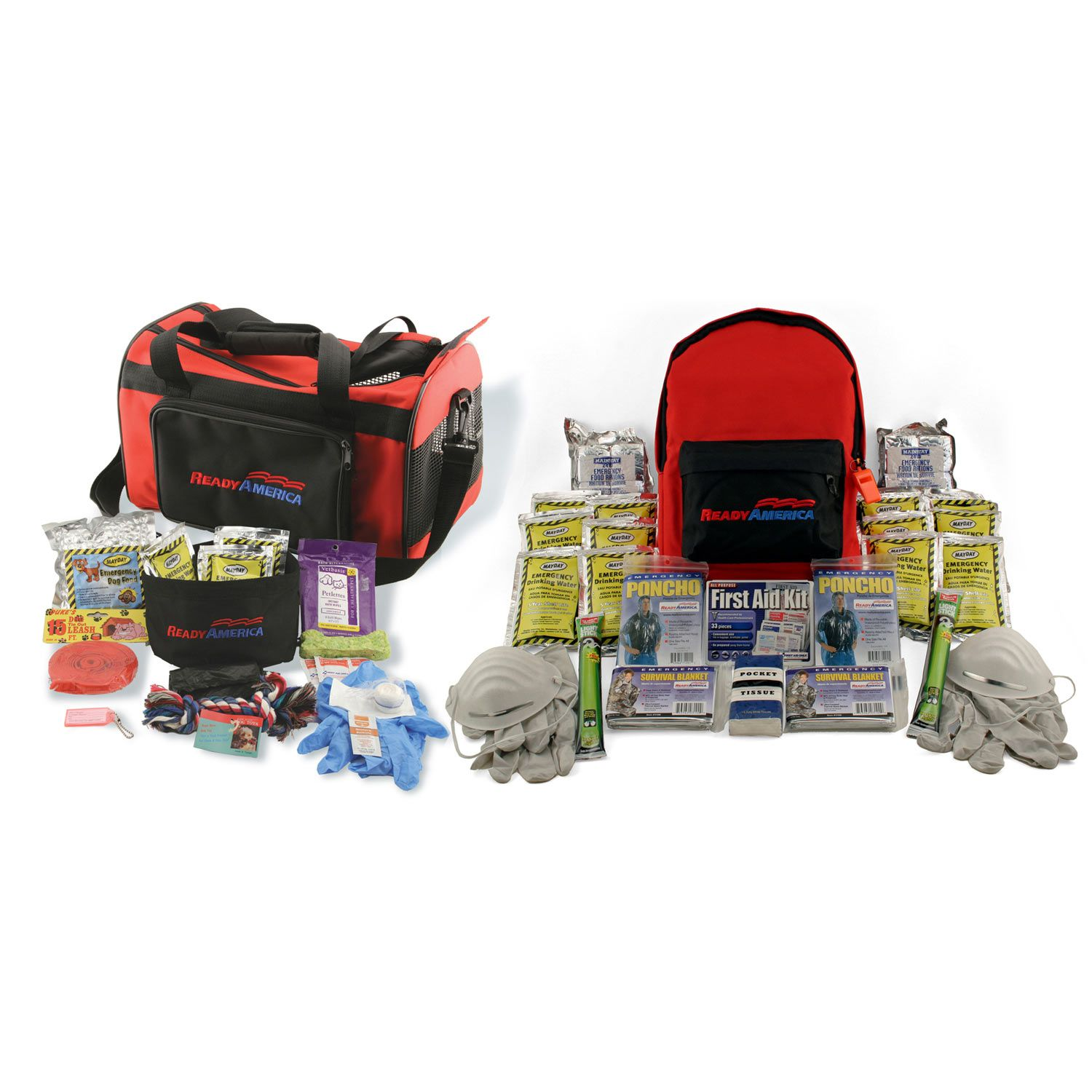 Ready America Grab 'n Go Small Dog and Two Person 3 Day