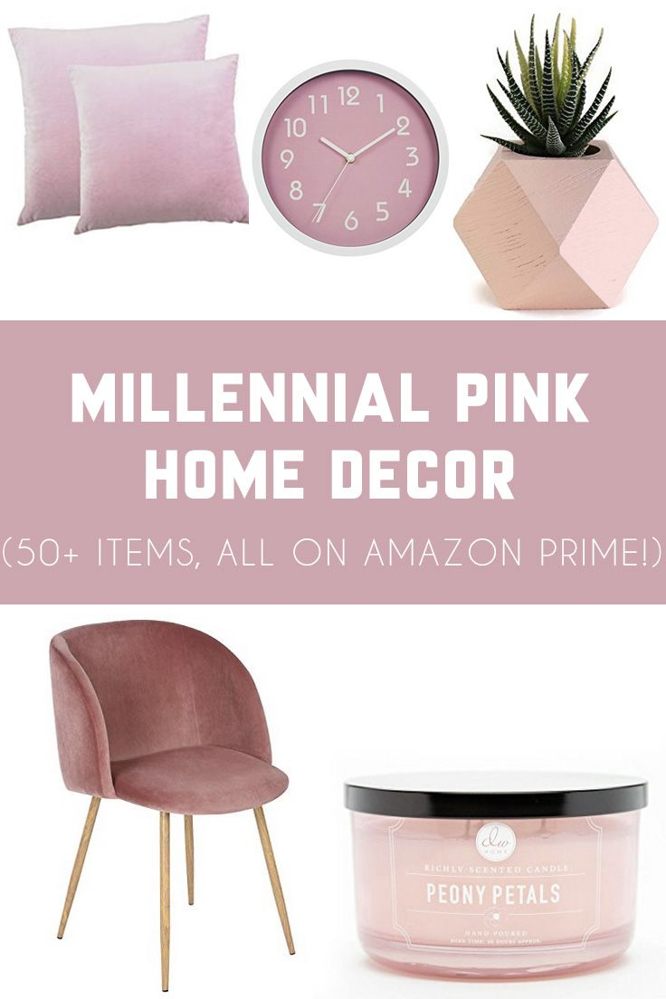 Millennial Pink Home Decor Finds on Amazon Prime Kitchen