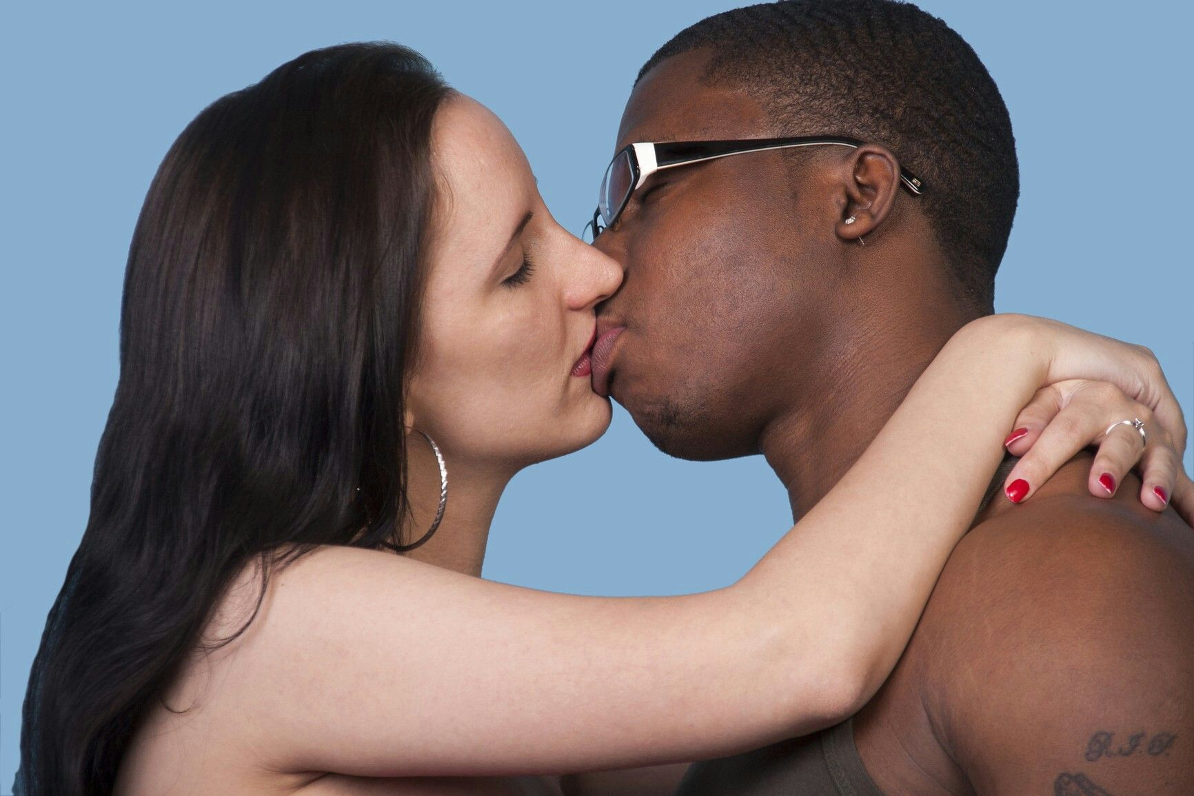 Black Girl White Guy Webcam