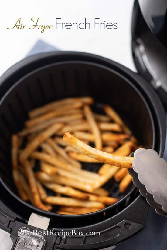 Air Fryer Frozen French Fries Recipe Food recipes