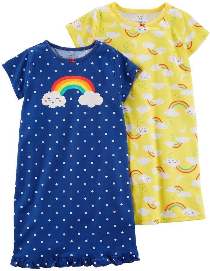861ede7567a8 Girls 4-14 Carter's 2-pk. Night Gown Set | Q2 Children's Sleep ...