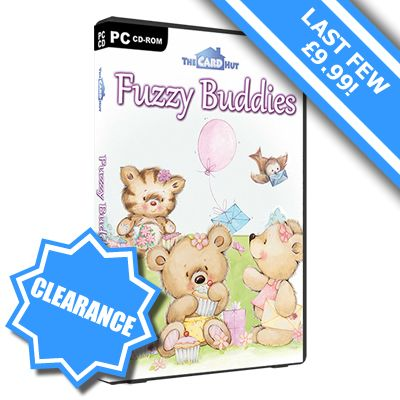 The Card Hut - The best papercraft and card creation software available / Fuzzy Buddies