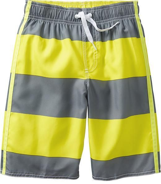b2216f7791 Old Navy Boys Rugby-Stripe Swim Trunks on shopstyle.com | Children ...