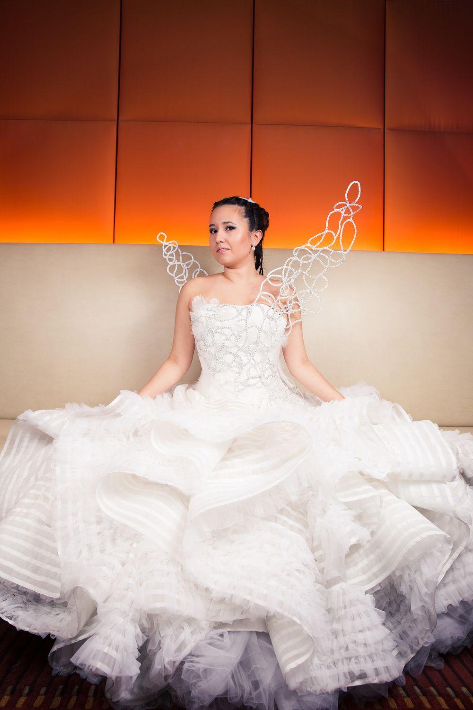Katniss Everdeen Wedding Dress Costume From The Hunger Games